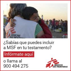 ¿Sabías que puedes incluir a MSF en tu testamento?