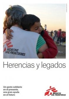 Folleto de herencias y legados MSF